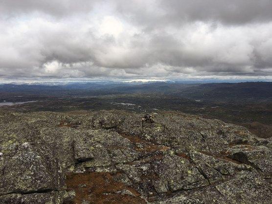 Utsikt mot Hardangerjøkulen.