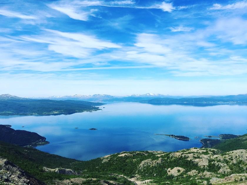 Deilig utsikt over Ofotfjorden.
