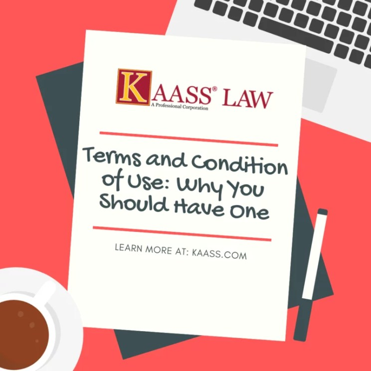 Terms and Condition of Use Agreement Lawyer