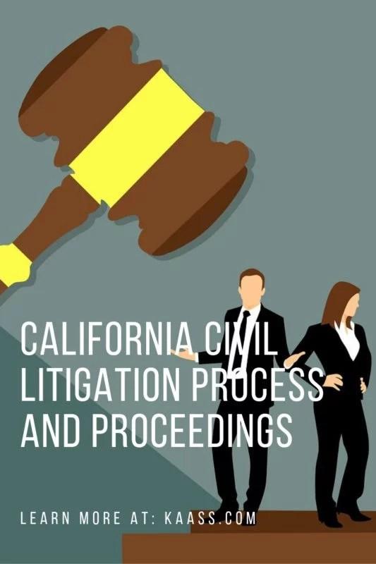 California Civil Litigation Process