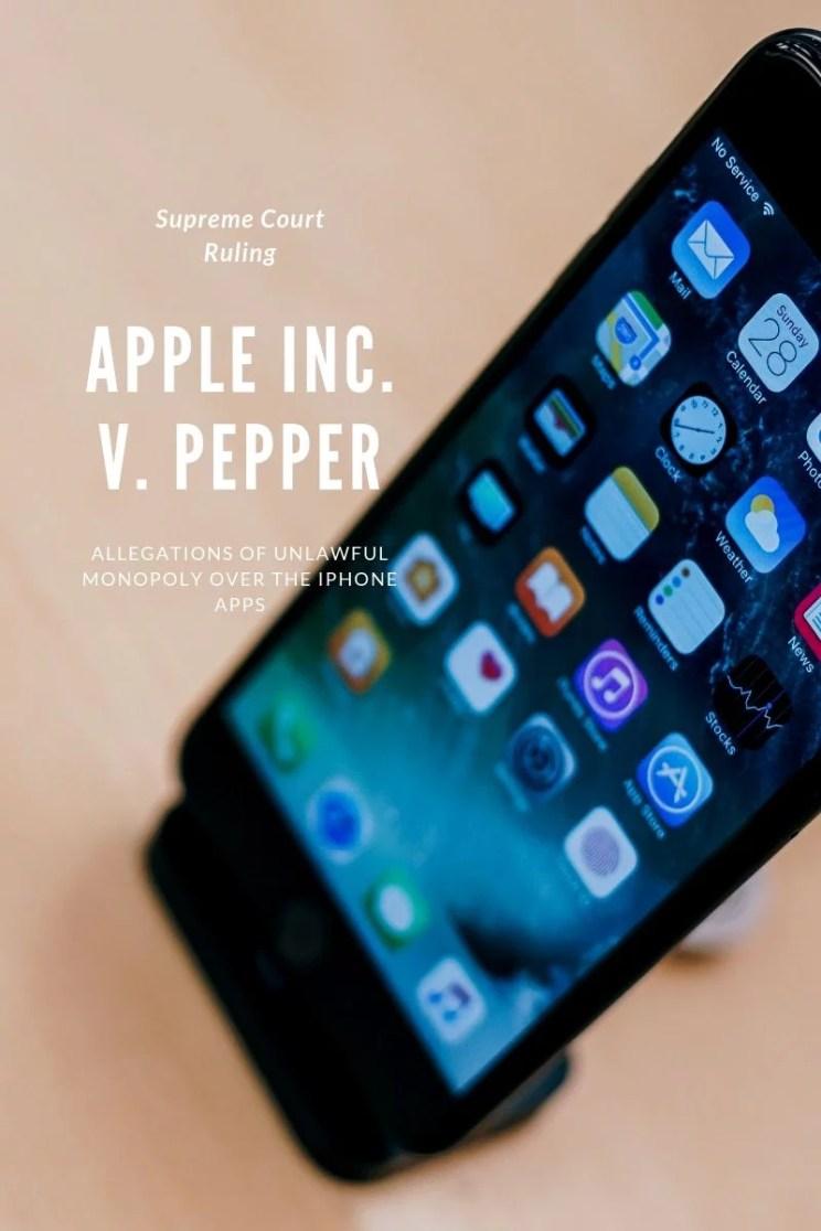 Apple Inc. v. Pepper
