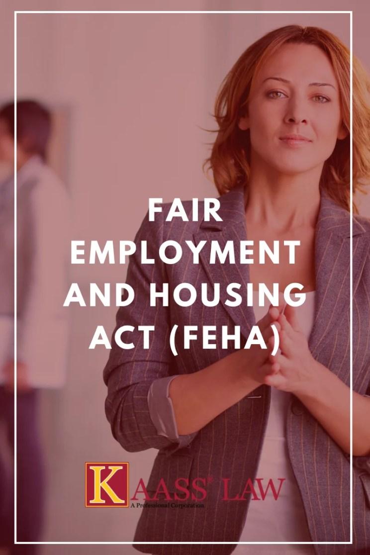 Fair Employment and Housing Act FEHA
