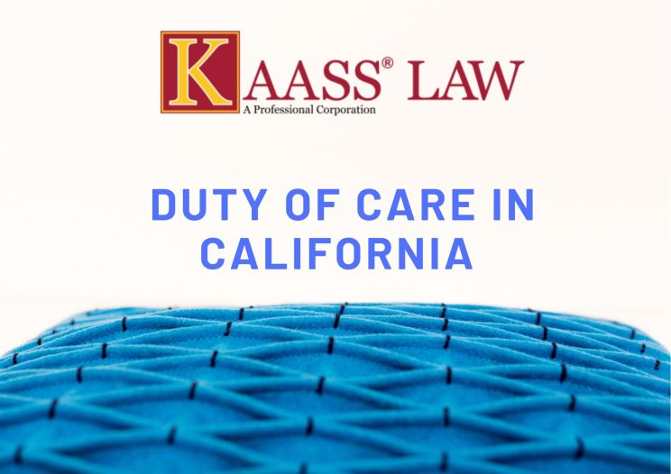 duty of care in california blog post image
