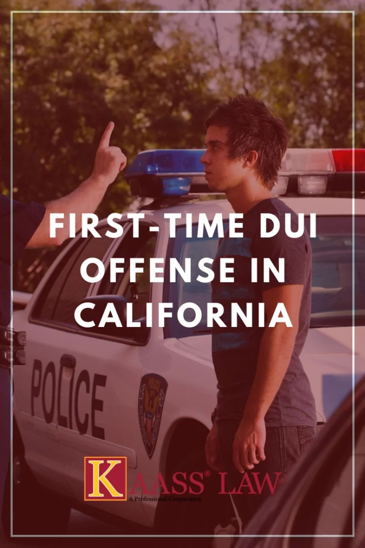 First-Time DUI Offense in California
