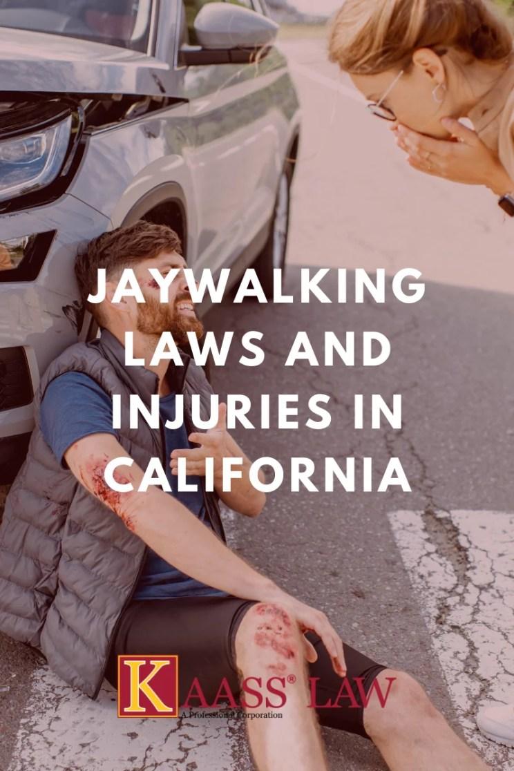 Jaywalking Laws and Injuries California