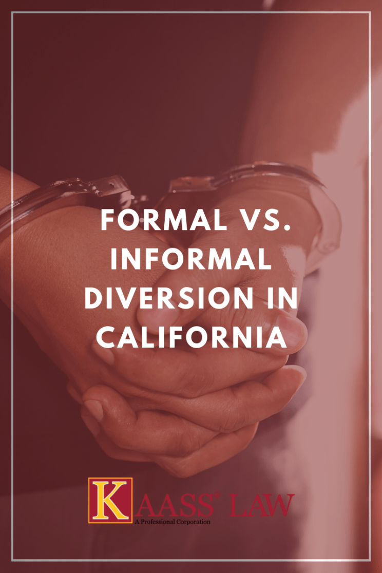 Formal vs Informal Diversionin California