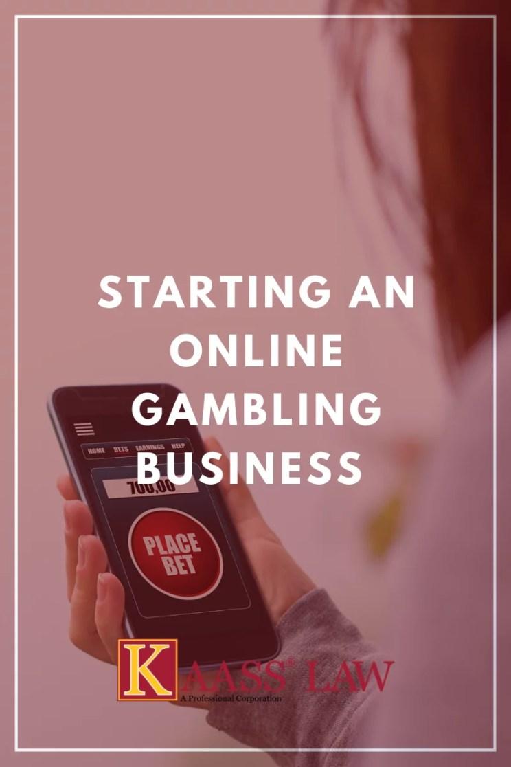 Starting an Online Gambling Business