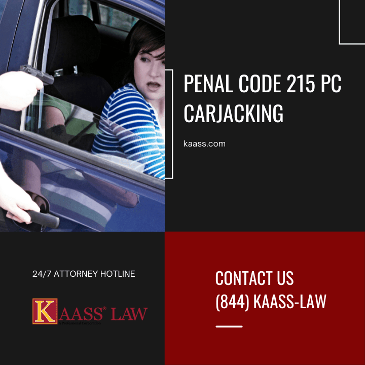 Penal Code 215 PC Carjacking