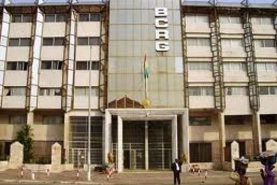 Communiqué BCRG portant retrait de la circulation des anciennes séries (1985, 1998, 2006, 2010 et 2012) de la coupure de GNF 5.000