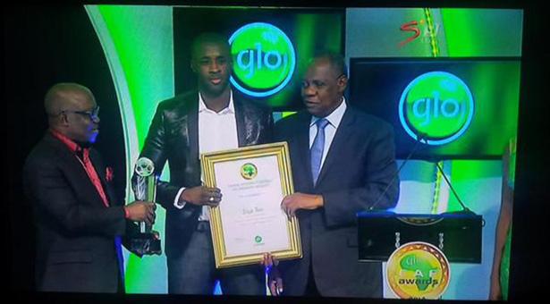 Yaya Touré sacré pour la 4e fois consécutive joueur africain de l'année