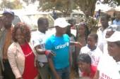 L'UNICEF organise le raccompagnement de personnes guéries d'Ebola à Thuo