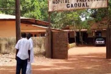 Gaoual: Les jeunes manifestent pacifiquement dans la rue