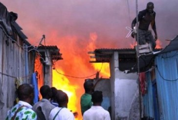 Labé: une maison et son contenu partis en feu