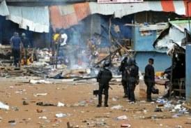 Pillage des boutiques et magasins : des forces anti émeutes indexés !