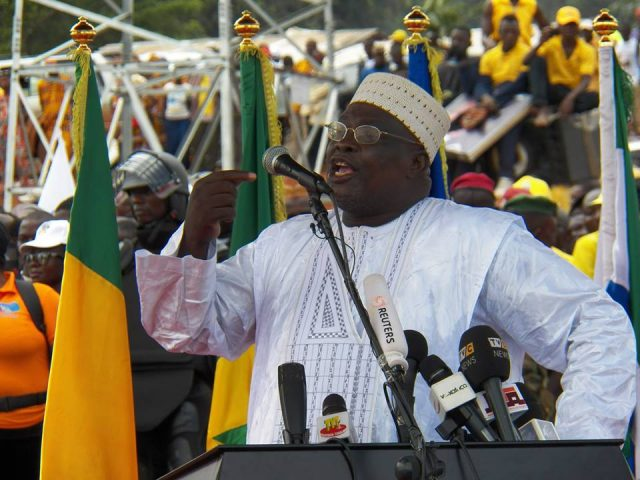 Sékhouna Soumah: le forcing politique pour le maintien!
