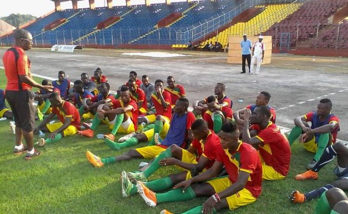 Match amical: le Syli Junior s'impose 4 -0 face au Raja de Casablanca