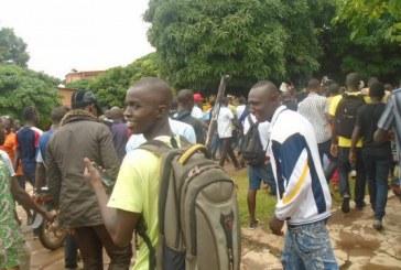 Kankan : Les étudiants réclament leurs derniers arriérés de pécule !