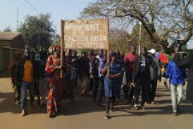Kankan : Les enseignants-contractuels de l'Etat descendent dans la rue !