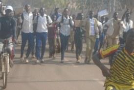 Kankan : Timide reprise des cours ce matin dans les écoles !