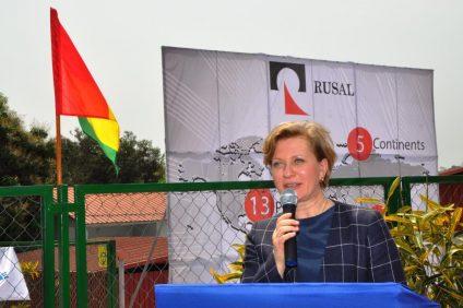 En Guinée l'hôpital de RUSAL a servi de base pour installer un laboratoire unique de recherche scientifique destiné à la lutte contre les infections dangereuses