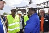 Usine Friaguia : le Ministre des mines félicite Rusal pour le niveau des travaux de réhabilitation