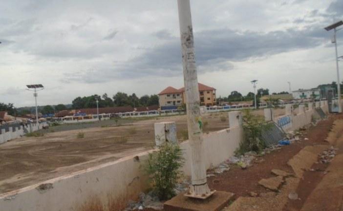 Boké: la place des martyrs dans un état d'insalubrité et de délabrement avancé
