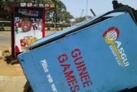 Economie-Boké : «60 kiosques  de Guinée Games, ont été incendiés par les manifestants…», soutient le coordinateur la société dans la préfecture