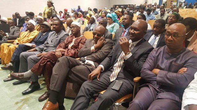 Meeting à New York: « Le  PADES est le parti de la nouvelle génération » dixit Dr. Ousmane Kaba
