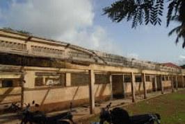 Education-Boké: des bâtiments de l'Ecole primaire de Gorèye sur le point de céder