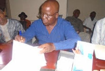Boké: Le nouveau Chef Section de la Direction préfectorale des Impôts a pris fonction dans la préfecture