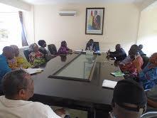 Boké: Des femmes parlementaires en séjour dans la préfecture