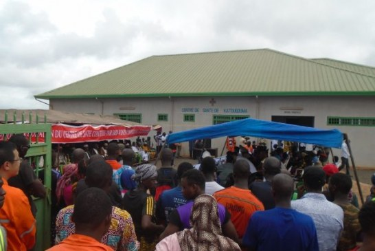 Boké: Le Consortium SMB-Winning offre un Centre de Santé amélioré à la population de Katougouma