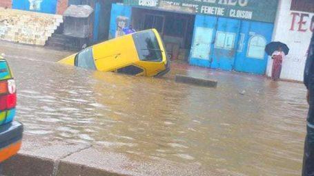 Journée pluvieuse à Conakry : Des dégâts, des inondations et des embouteillages