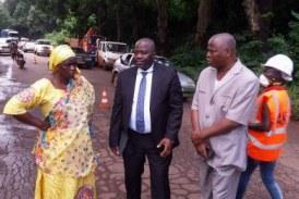 L'axe Boké-Kébou: Une mission technique des TP pour évaluer les biens impactés et indemniser les propriétaires