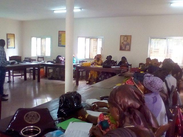 Kankan: Des femmes leaders de la région en formation pour la prévention des conflits et la consolidation de la paix