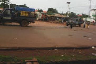 Boké: Accrochage entre manifestants et forces de sécurité au carrefour Dembaya dans la CU