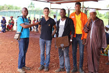 Boké: La SMB paie plus de 3 milliards GNF aux riverains de la 1ère piste du projet d'AMR