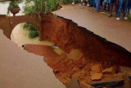 Dégradation des routes : Lola coupé de N'Zérékoré après l'effondrement d'un pont