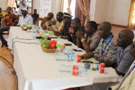 Boké: Fini l'atelier de formation des acteurs locaux sur les codes des collectivités, minier et environnement dans la préfecture