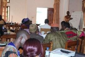 Développement Communautaire: Tenue d'un atelier de formation sur les techniques d'animation et de Communication pour le développement de Boké