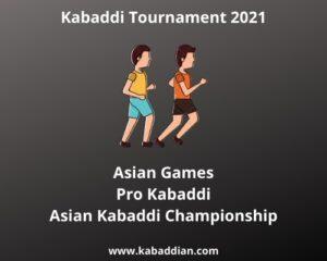 kabaddi tournament 2021 near me