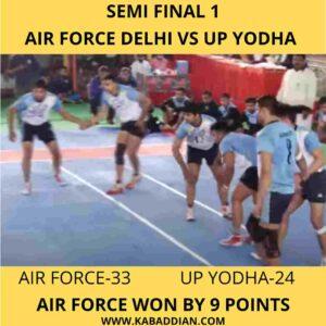 38th all india mens kabaddi championship semi final 1