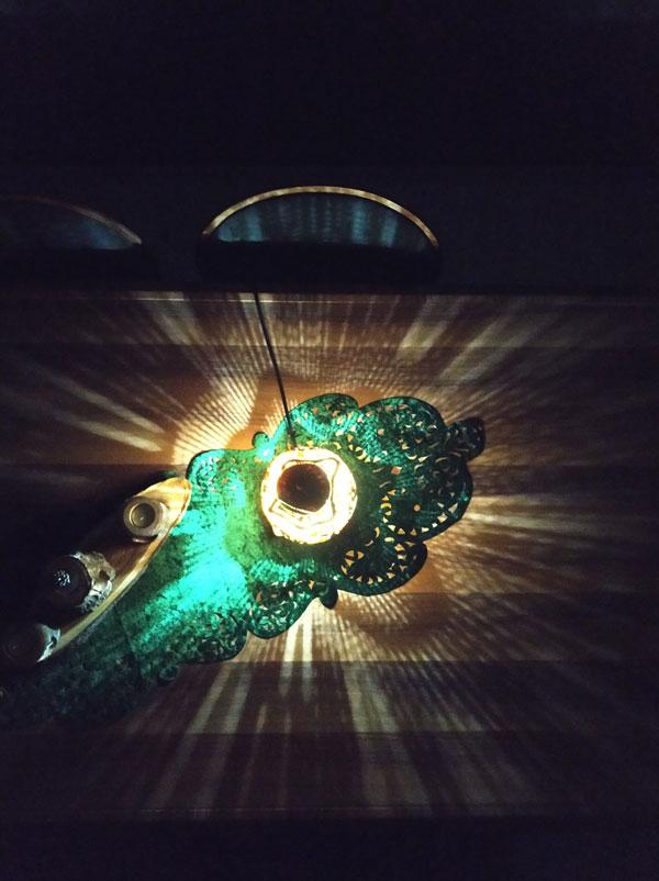 su kabağı tasarım hediyelik lamba