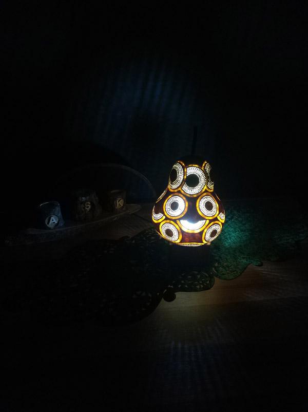 su kabağı ışıklı dekoratif led gece lambası