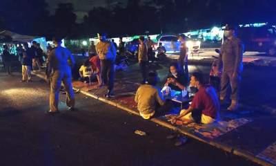 Foto Camat Seibeduk, Pantau Penerapan Prokes, prokes, Seibeduk Zona Merah, Tempat Keramaian, zona merah