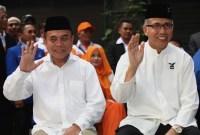 Beri Selamat Gubernur Aceh Terpilih Presiden Jokowi Mampir di Aceh