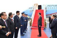 Presiden Jokowi Tiba di Hamburg, Jerman
