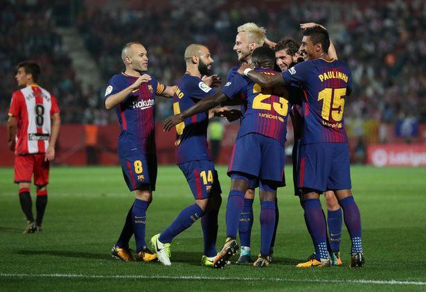 Barca Kalahkan Girona Tiga Gol tak Berbalas