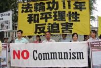 Warga Malaysia Unjuk Rasa Menolak Paham Komunis