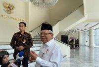 Wapres Ma'ruf: UU Baru KPK Tidak Melemahkan Penindakan Korupsi